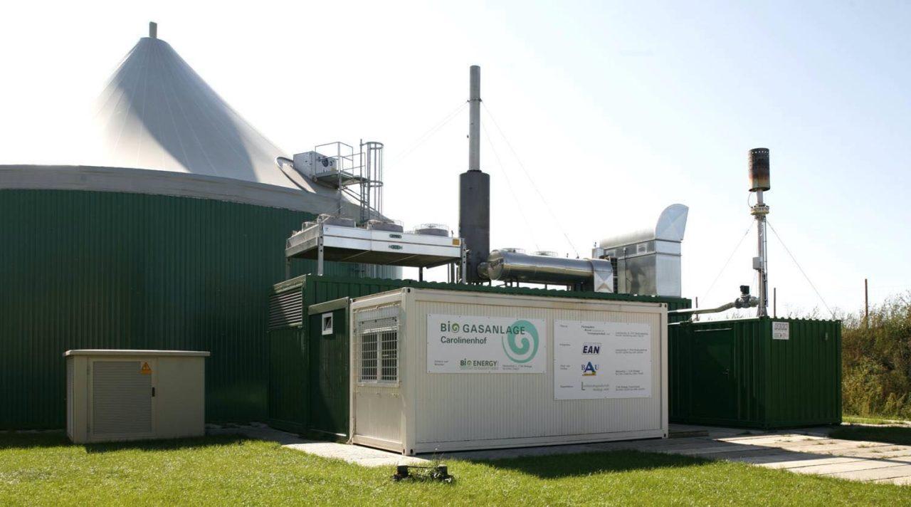 Biogasanlage Carolinenhof