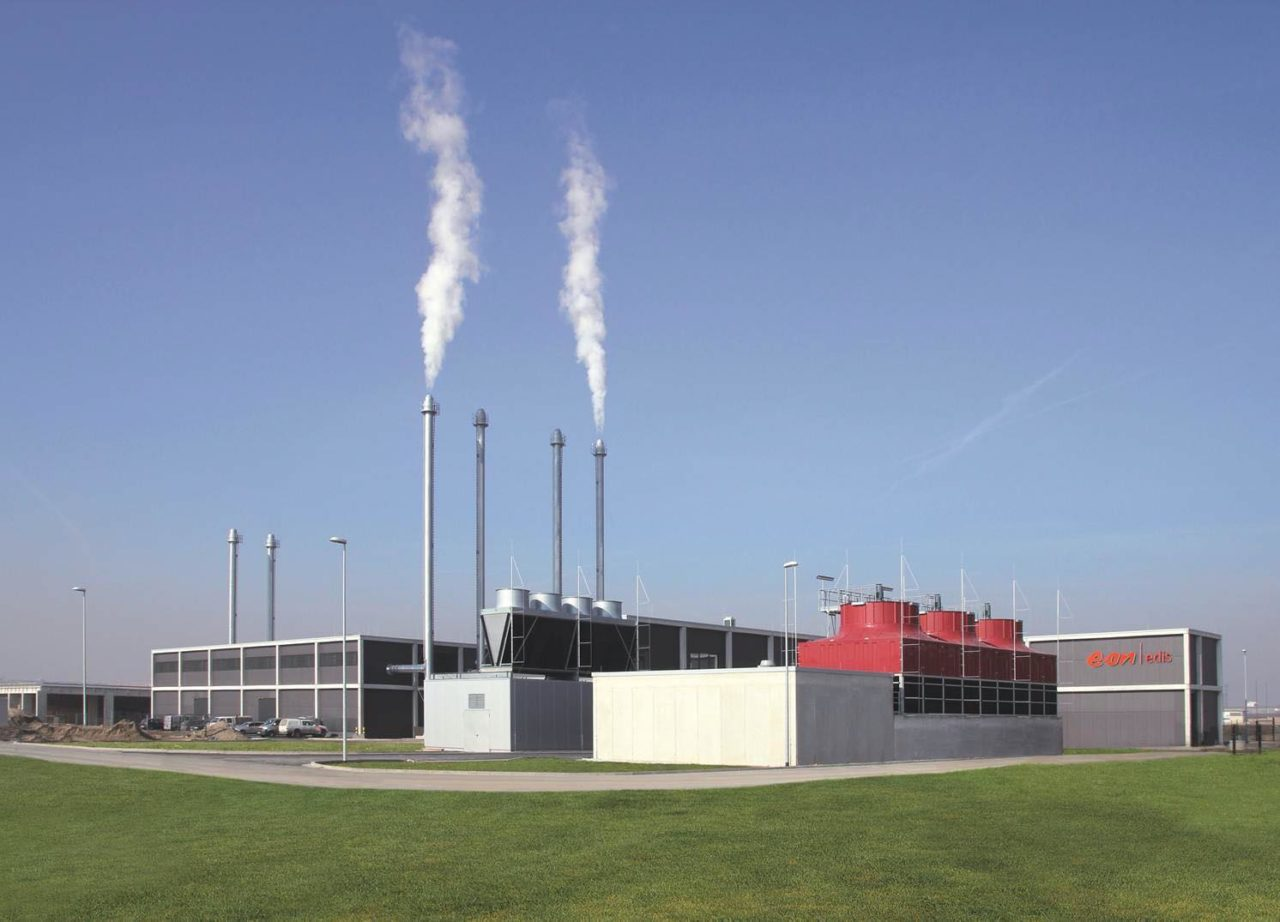 Energiezentrale BER Flughafen Schönefeld