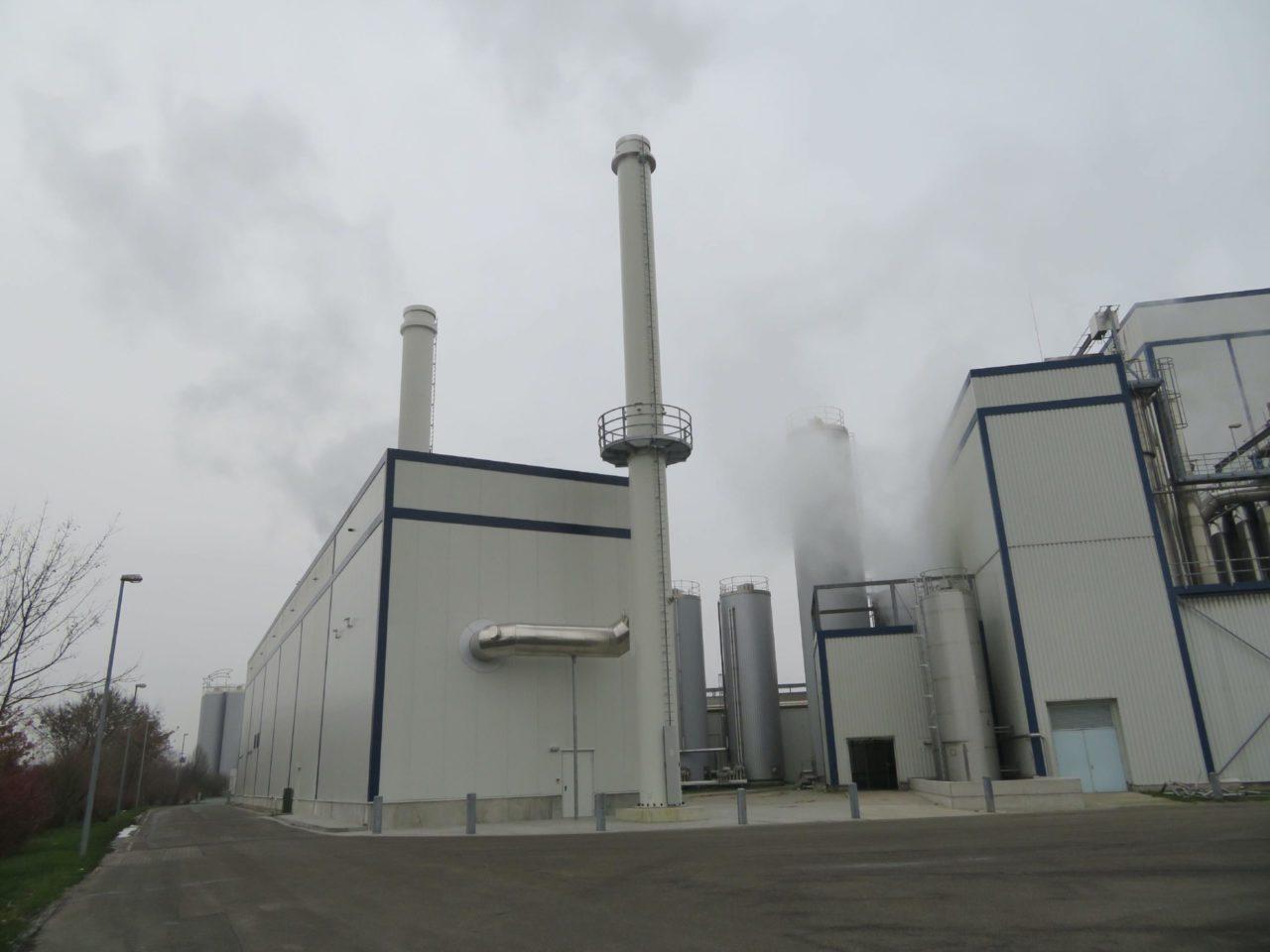 Dampfanlage DMK Edewecht