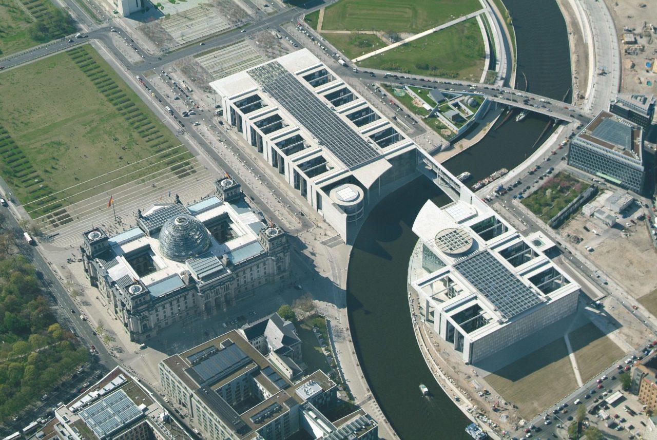 Parlamentsbauten Berlin